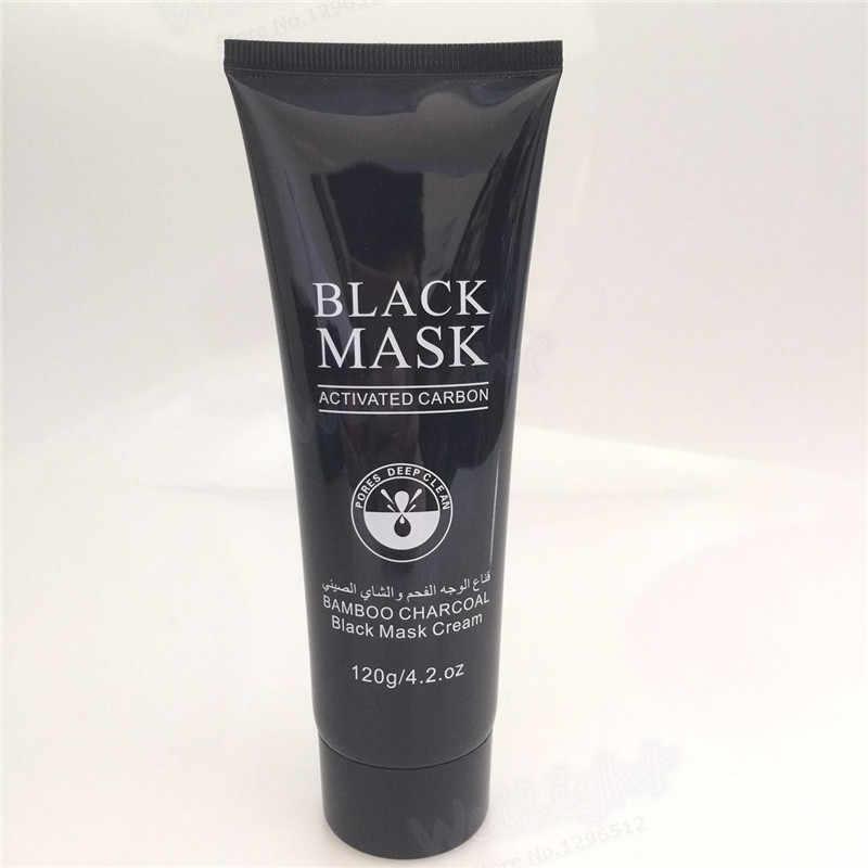 Mascarilla hidratante profunda para blanquear los poros contracción aceite-control blanqueador crema cuidado de la piel antiarrugas antiedad negro máscara 120 ml
