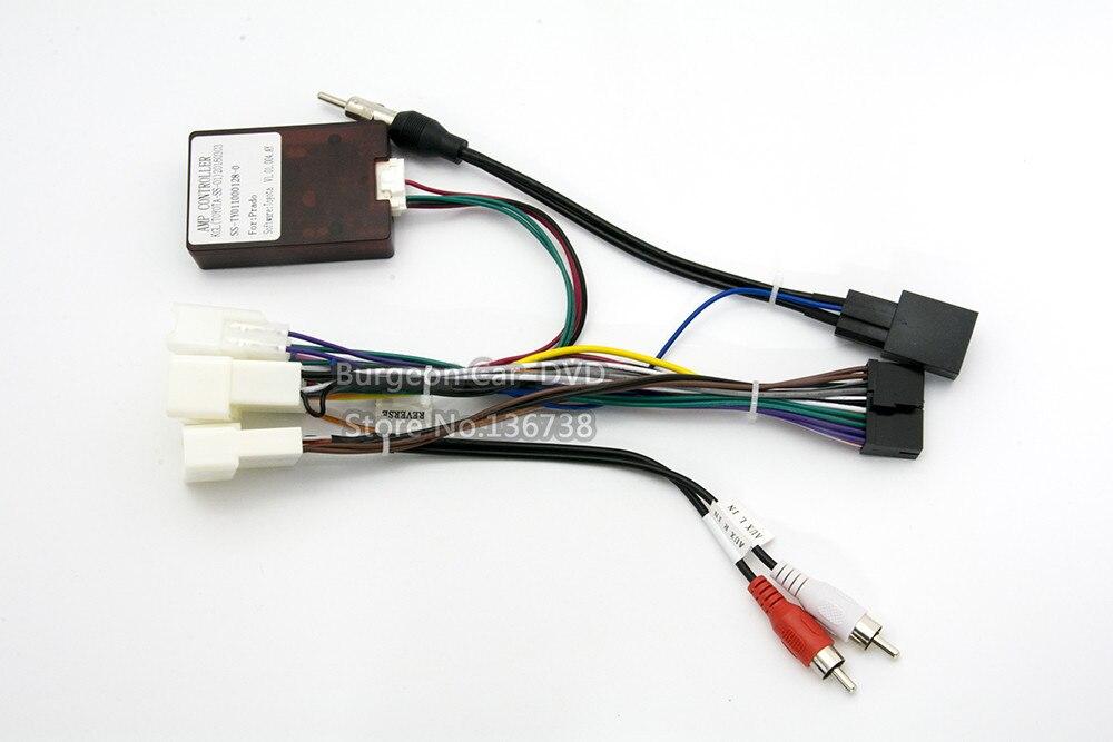 Amplifier box power cable for prado