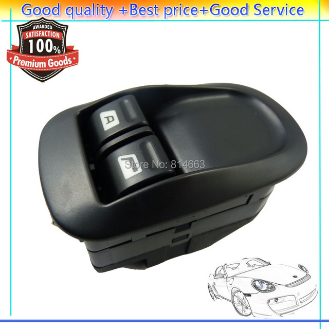 ISANCE MASTER ELECTRIC POWER WINDOW SWITCH MIRROR BLACK FOR PEUGEOT 206 306  6 Pins CONNECTOR Left