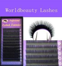free shipping!0.07mm J/B/C/D curl 5 trays/lot 3D 6D volume lashes false eyelash extension