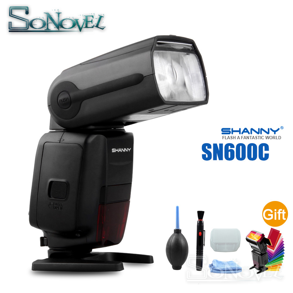 SHANNY SN600C HSS 1 8000S On camera TTL GN60 Flashgun Flash Speedlite For Canon EOS R