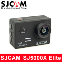 """Оригинальный SJCAM SJ5000X Elite Action Камера 4 К Спорт DV Wi-Fi гироскопа Дайвинг 30 м Водонепроницаемый SJ cam мини видеокамера 2 """"Экран NTK96660"""