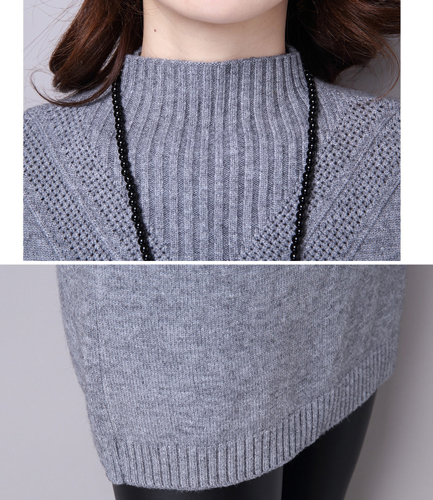 Women Winter Sweaters and pullovers Christmas light Pink ...