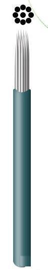 бесплатная доставка 50 шт./microblading состава лот горячие продажи #9 круглый зеленый макияж тени для постоянного бюстгальтер Lane постоянными макияж ручка