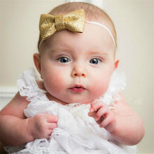 Toddler Baby Girls Head Wrap Top Knot Big Bow Turban Headband Newborn Infant Princess Headwear Hair Accessories 2019 Hot(China)