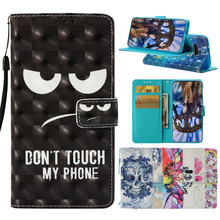 3D Printed Dont touch my phone Flip Case for Samsung Galaxy S9 S10 Plus Wallet PU Leather For S10Lite S10Plus
