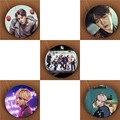 Youpop K-POP KPOP BTS Bangtan Meninos ASAS Álbum Pinos Broche Crachá Acessórios Para Roupas Chapéu Mochila Decoração HZ1852