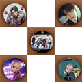 Youpop KPOP BTS Bangtan Boys WINGS Album Brooch Pins K-POP Badge Accessories For Clothes Hat Backpack Decoration HZ1852