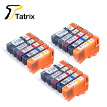 15 PCS For Canon PGI-525 CLI-526 Compatible Ink Cartridge For Canon PIXMA IP4850/IP4950/IX6550/MG5150/MG5250/MG5350 Printer