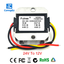 DC 24V to 12V Buck Power Converter Module 10A