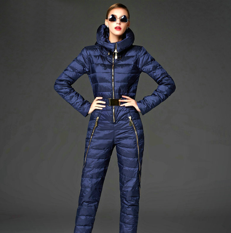 e7e588470e32 2015 rompers womens jumpsuit Slim down overalls perfect legs down coat  winter jacket women jumpsuit Overalls for Women winter-in Parkas from  Women s ...