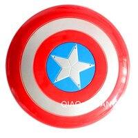 Avengers Captain America Durchmesser 42 CM Schild Mit LED-Licht Musik Cosplay Kinder Geschenk Spielzeug OPP BEUTEL S179