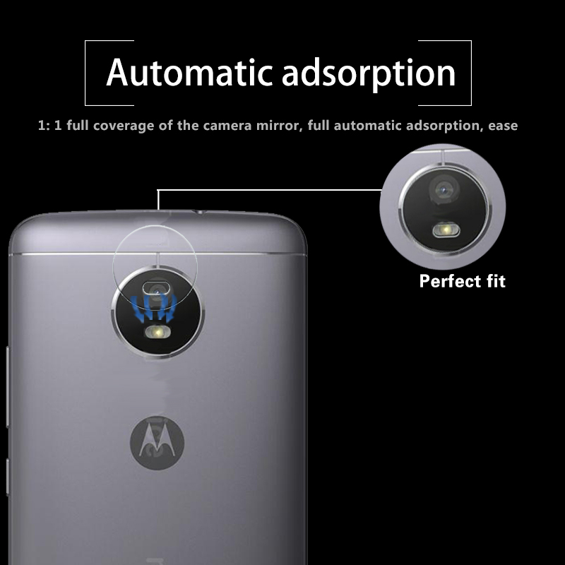 Ultra-thin Back Camera Lens Tempered Glass Film For Motorola Moto E4 XT1762 XT1772 Rear Lens Protective Film Glass Anti Shatter