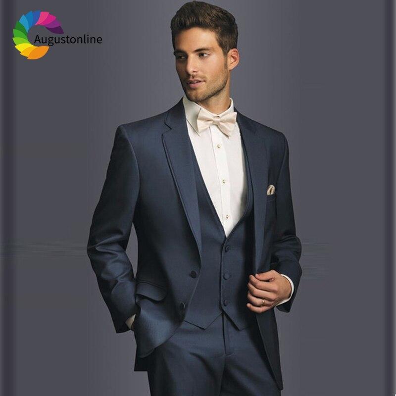 navy blue men suits
