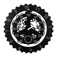 DIY Large Quartz Movement Gear Wall Clocks Mechanical Style Clock Modern Rotation Multi-function Watch Home Decor