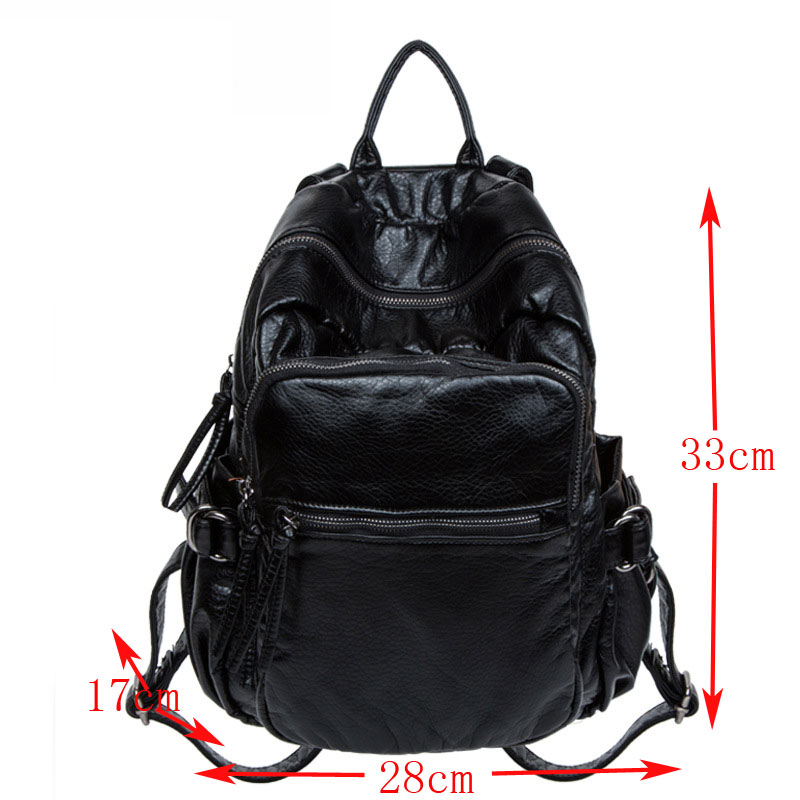 Pu Women Leather Backpacks School Bags Students Backpack Ladies Women's Travel Bags Leather Package Female Brand Bao bao brand 2017 design women genuine leather backpacks cowhide school bag student backpack ladies bags leather package travel female