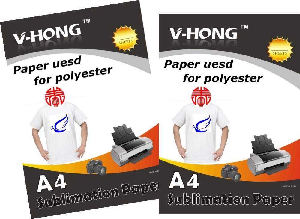 A4 Size Transfer Modal And Polyester Fabric Heat Sublimation Paper