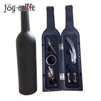 5pcs Lot Wine Opener Tool Set Bottle Opener Stopper Wine Ring Wine Pourer Wine Bottle Opener