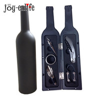 5pcs Lot Wine Opener Tool Set Bottle Opener Stopper Wine Ring Wine Pourer Wine Bottle Opener