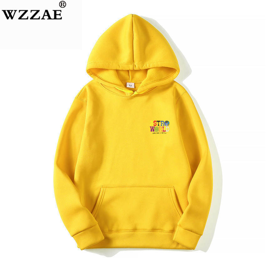 Fashion Letter ASTROWORLD HOODIE street wear Man woman Pullover Sweatshirt 42