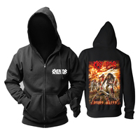 Bloodhoof kreator Out of Dark into the Light Terrible Certainty Violence hoodie Asian Size