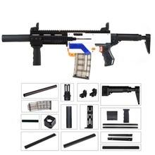 WORKER Lightweight 3D Printing Modularized Mod F10555 Pump Kit Barrel Jaket Combo 11 Items for Nerf Retaliator DIY Toys Parts