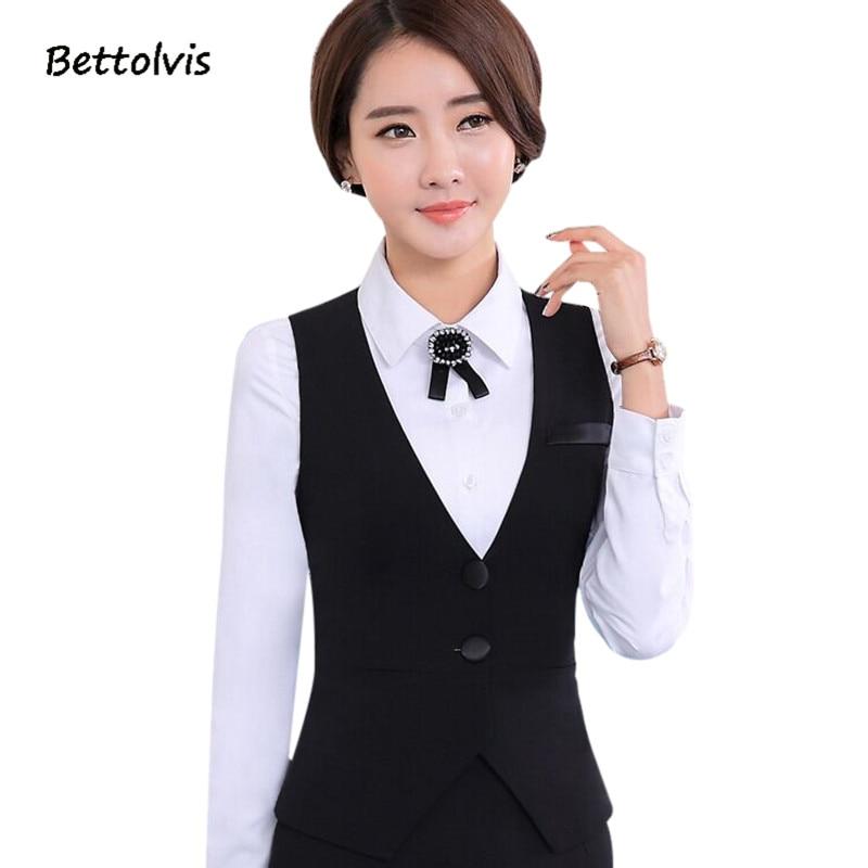 2018 الخريف الوظيفي السيدات سترة العمل ارتداء زي سليم الخامس الرقبة الرسمي vestidos المرأة مكتب سترات الأسود زائد الحجم S-4XL