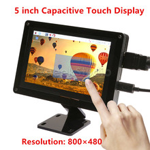 On sale Free Driver Plug and Play! 5 inch 800*480 Capacitive Touch Display Screen Monitor for Raspberry Pi, Windows PC, BeagleBone Black