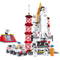 560pcs space shuttle spaceship Assembling Model Toys Building Blocks Bricks boys toys brinquedos educativos