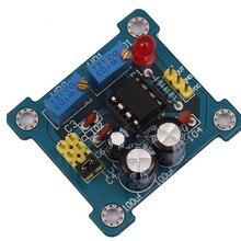 5 шт. NE555 генератор импульсов DIY Kit генератор сигналов меандр рабочий цикл и частота регулируется модуль комплект