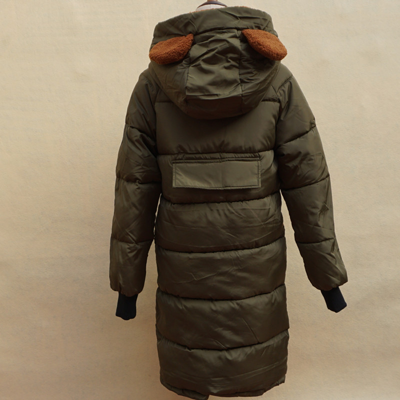 2017 mode frauen winter mit kapuze mantel oversize
