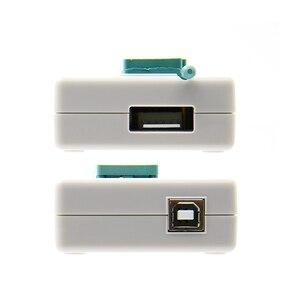 Image 4 - Kit programador, 100% original novo v10.27 tl866ii plus universal minipro + 28 adaptadores + clipe de teste tl866 pic bios de alta velocidade programador