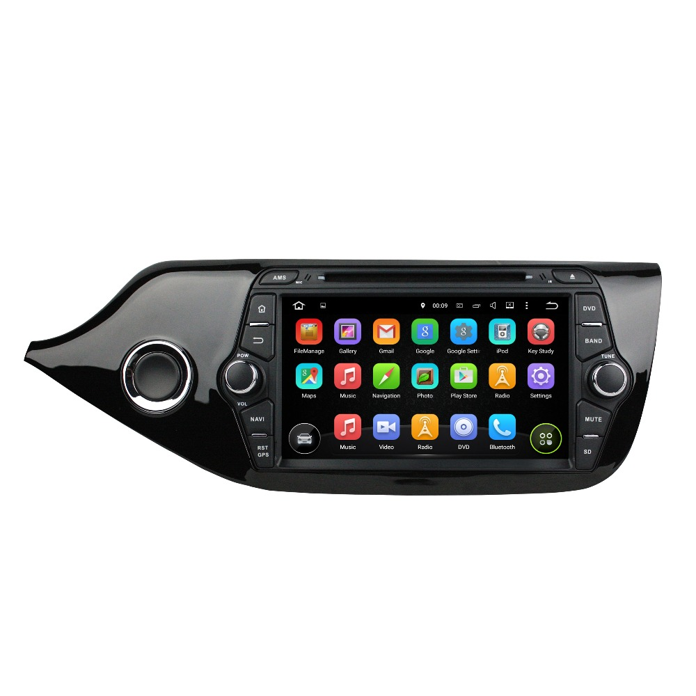 KLYDE 8 2 Din Android 8.1 Car Radio For Kia CEED 2014 Car Audio Multimedia Player Car Stereo DVD Player Mirror Link Steering