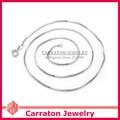 Carraton NSYS6001 Moda Prata Esterlina 925 Cadeia de Caixa de Colar