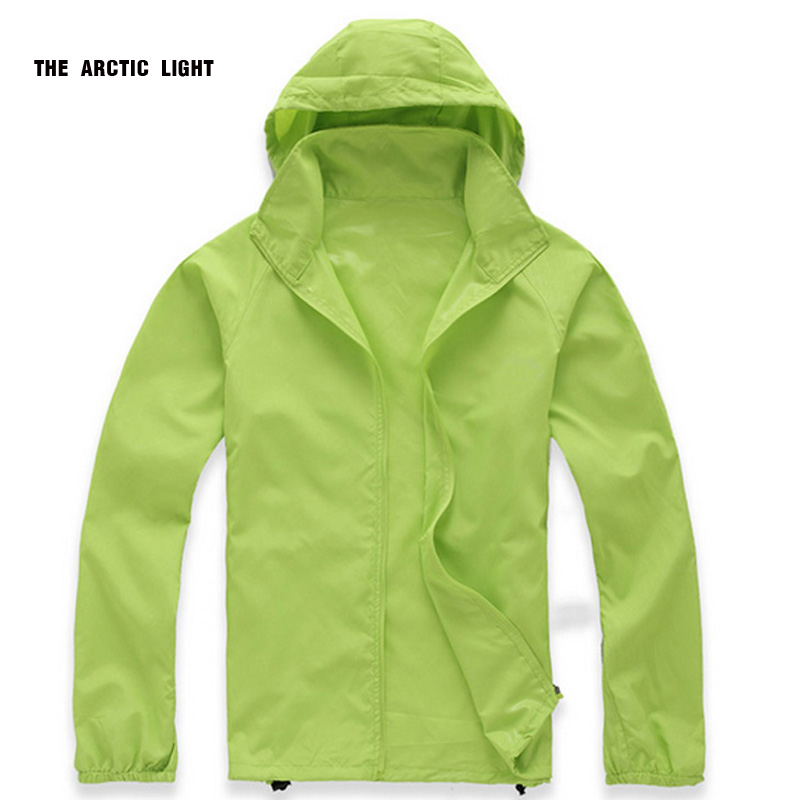 Hiking Jacket Dust-Coat The-Arctic-Light Winderbreaker Women Windproof Thin Summer Breathable