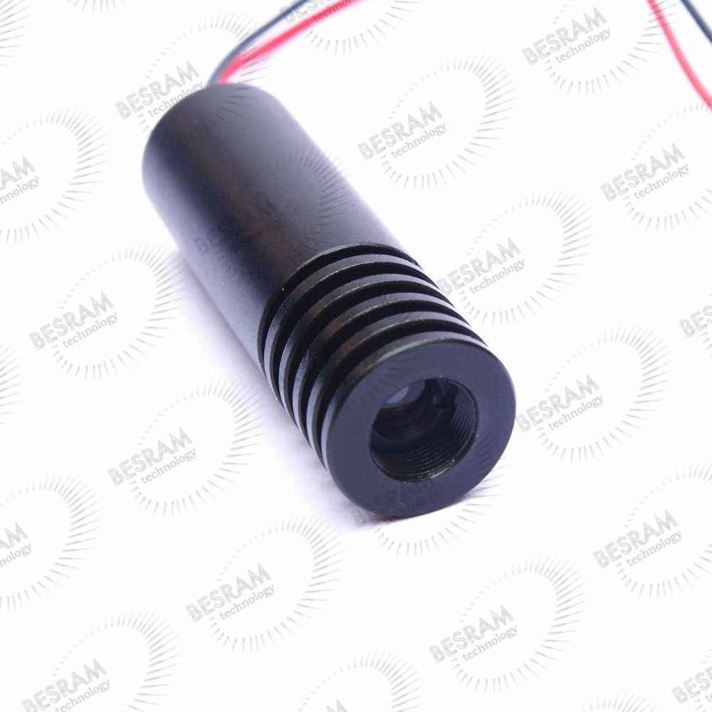 1845 Focusable 100mW 150mW 650nm 660nm אדום לייזר דוט מודול דיודה 5VDC