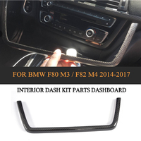 DRY Carbon Auto Interior Dashboard Kit Parts Trim For BMW F80 M3 Sedan F82 M4 Coupe