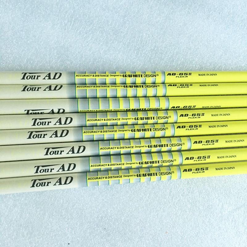 New mens Cooyute Golf clubs shaft TOUR AD-65II Golf Irons shaft 9pcs/lot Graphite Golf shaft R or S or SR Flex  Free shipping