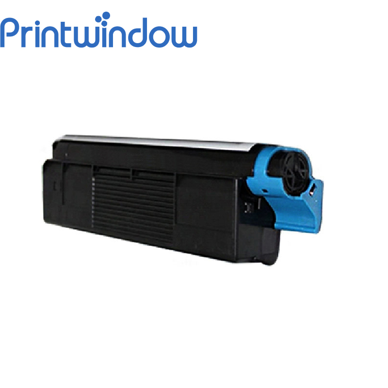 Printwindow Compatible Toner Cartridge for OKI C5100/5100N/5200/5200N/5250/5250N 2x non oem toner cartridges compatible for oki b401 b401dn mb441 mb451 44992402 44992401 2500pages free shipping