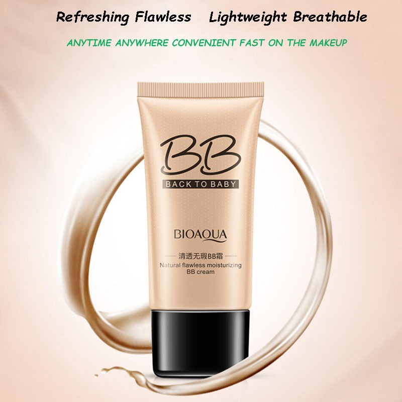 2018 New Style Men and Women Skin Care Products Concealer Whitening Control Oil Long-lasting BB Cream image