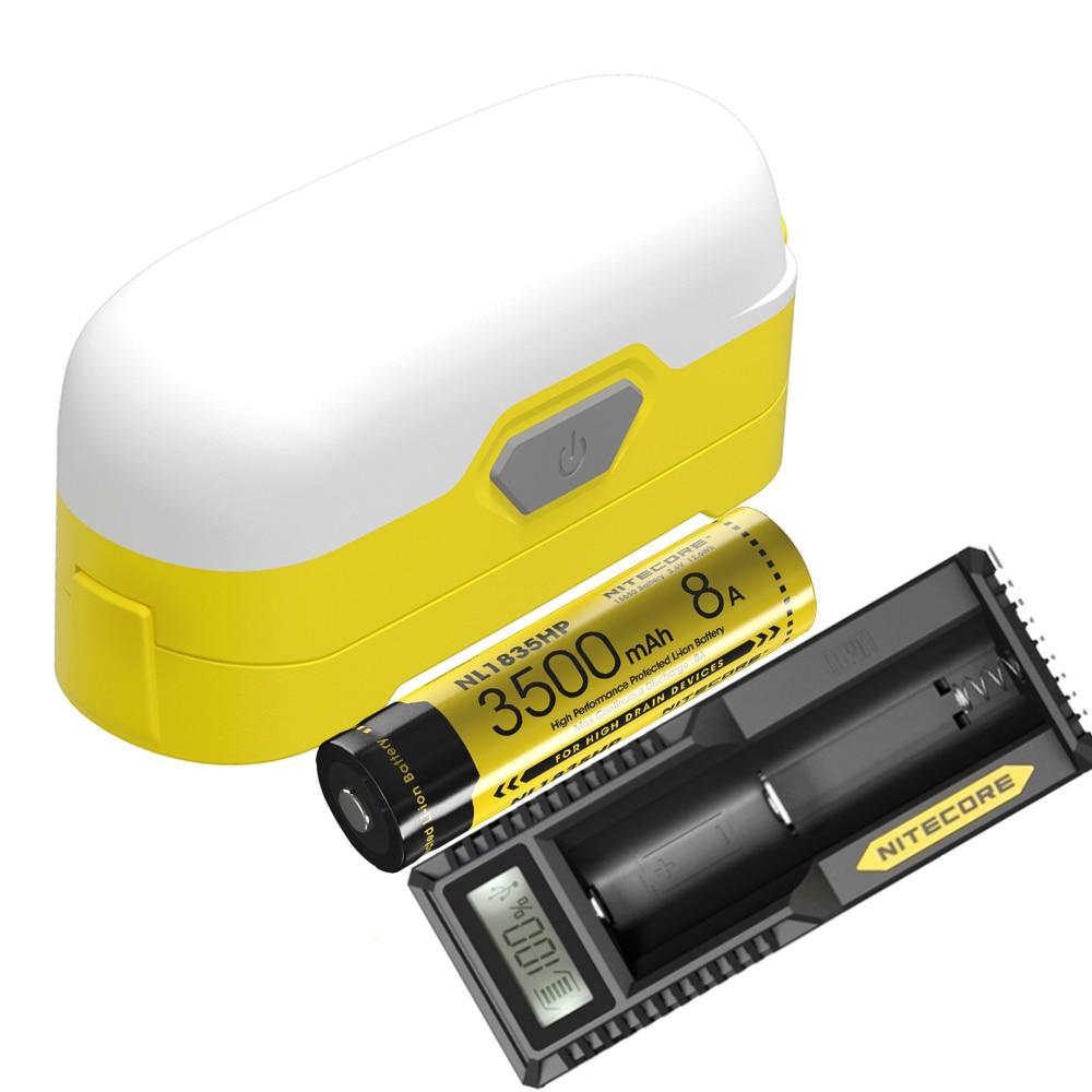 NITECORE LR30 Lantern Kit 6pcs CRI LED White red light sources max 205LM portable light with