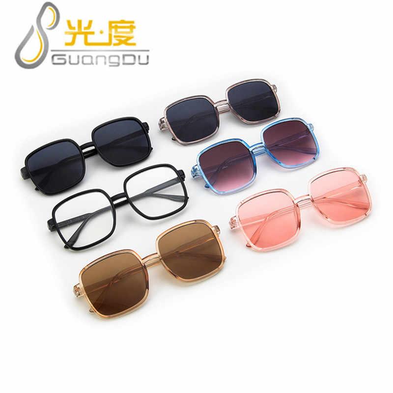 GUANGDU 2019 Classic Square Sunglasses Men Women Retro Vintage Frame Sun Glasses Female Male Eyewear Goggle UV400 Gafas De Sol