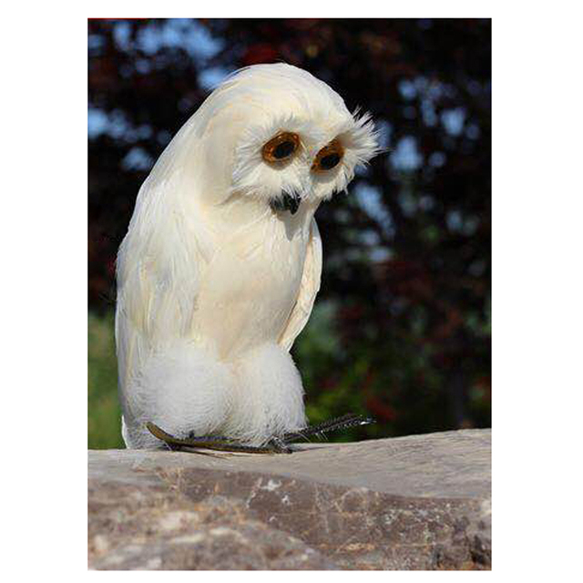 Electronic Scarecrow Garden Defense Owl Garden Ftempo