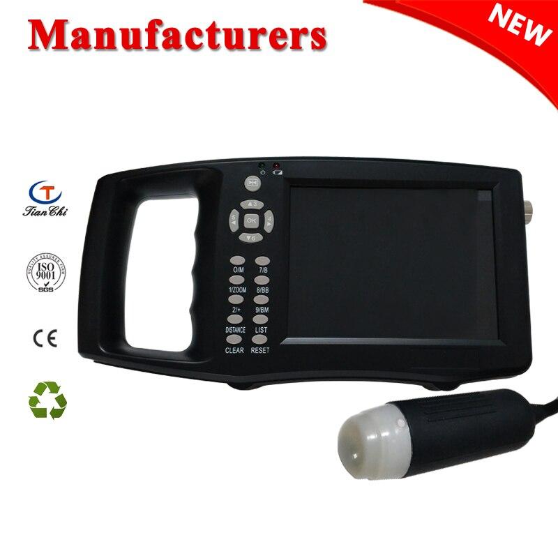 Veterinário ultrasound máquina TC-210 handheld vet ultrasound scanner equipamentos