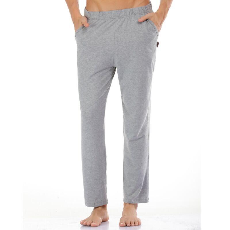 Men's Sleep Bottoms Pajamas Long Pants Sleepwear Comfortable Male Modal Home Wear Loose Home Trousers Pyjamas Plus Size