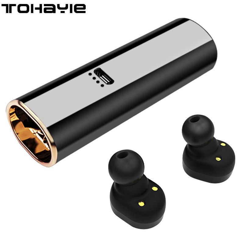 TWS Cordless Headphone Music Bluetooth Earphone With Mic Mini Wireless Earbuds Stereo Bluetooth Earphones Headphones PK X2T X3T
