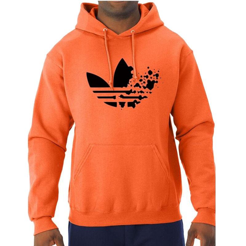 2018 Autumn Winter Warm Fleece Hooded  ADI Hoodies Sweatshirt Men/Women Long Sleeve Hoodie Mens Hoody Fashion Hip Hop streetwear