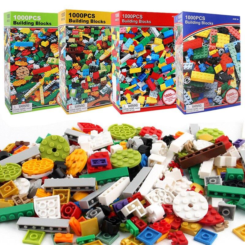 1000 Peças Da Cidade DIY Criativas Blocos De Construção Em Massa Define Minecrafteds Amigos Clássico Bricks Criador LegoINGLs Brinquedos para As Crianças
