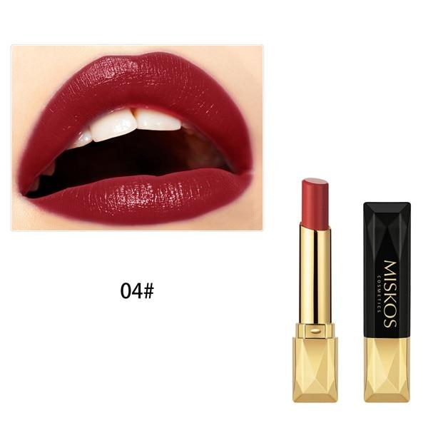 Beauty Matte Lipstick Long Lasting Cosmetics Maquiagem Women Makeup Red Batom Pigments Waterproof Lip Stick Pintalabios Mate 27