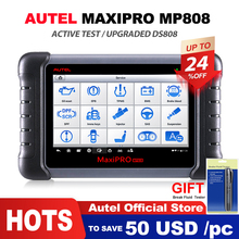 Autel MaxiPRO MP808 диагностический инструмент OBD2 Профессиональный OE-level OBDII диагностический инструмент ключ кодирования PK autel DS808 DS708 MS906 Pro